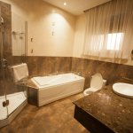 All suites have spacious private bathrooms
