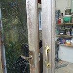 Unlocked paint store - arson risk