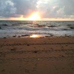 août, mer agitée