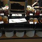 Die Fotos zeigen nur eine kleine Auswahl des hervorragenden Buffets im Rixos.