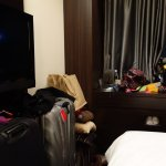 The room was small - but this is not unusual for Japan. Well equipped.