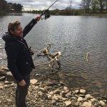 Trout fishing Edinburgh