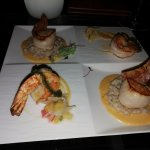 Delicious, well presented meal at L'appart