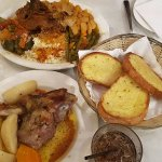 Roast Lamb and Greek Lamb Casserole