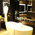 Tub in Bathroom of Fantastic Suite