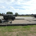 Part of the parade ground
