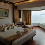 stylish and spacious room