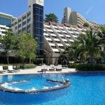 pool staff carry your bags to the lounger of your choice bringing fresh fruit & cold drinks