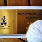 Pool chaair is reserved with your own personalised plaque, lovely momento