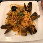 Seafood Linguine - lovely