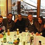 Unsere gesellige Runde im Österreichhaus beim Vierschanzentournee Skispringen 2017
