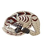 Wolf hand carved Nanaimo Native made, by Good