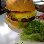 Beach BBQ Burger. DIVINE