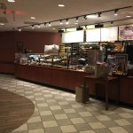 A rainy morning in West Des Moines but nice inside Panera Bread.