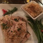 Snapper with grits