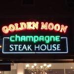 Golden Moon champagne steak house
