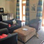 Pool Suite- living room
