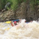 Rio Balsa white water rafting.
