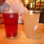 Dragon brewery fiery ginger beer & Red stone clarens Berry cider