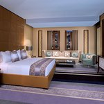 Amiri Suite Room, a stylish luxurious room located at Al Jasra Boutique Hotel.