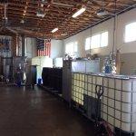 Rum distilling room
