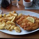 Haddock & chips - fresh & tender!