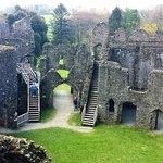Inside castle.