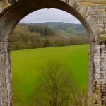 View from Chirk Aqueduct