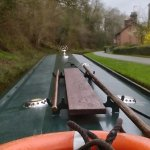 Approaching Chirk Aqueduct
