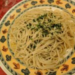 Spaghetti agli olio con peperoncino
