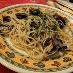 Spaghetti with vongole