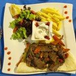 Roast beef strips