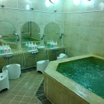 Onsen ( Traditional Japanese baths) in ladies locker area. Read the very useful and important ti