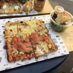 2 slices with Salad and a drink 10 Euros