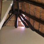 Hole in roof / thatch