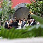 lovely wedding in the courtyard
