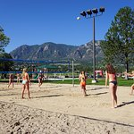 2 Beach Volleyball Courts