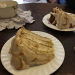 Banana & Butterscotch cake