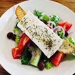 A wonderful Greek salad