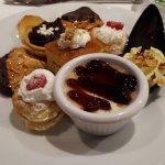 Amazing array of desserts