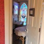 Private massage room.