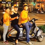 My Vespa driver, Hu, and our tour person Re (sp?)