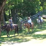 Horse Stables - Starting out on the Trail