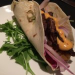 steak taco w/ chipotle mayo