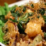 Fried Tamarind Scallops