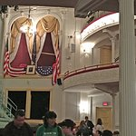 Ford's Theater - the box where President Lincoln ws shot