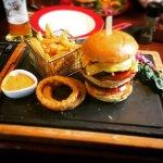 I had the Warrior burger! It was big and tasty!!