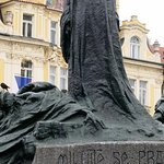 Jan Hus Memorial in Old Town Square