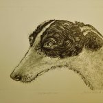 Etching by Alison Read.