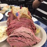 Harold's deli sandwich, it was only my half